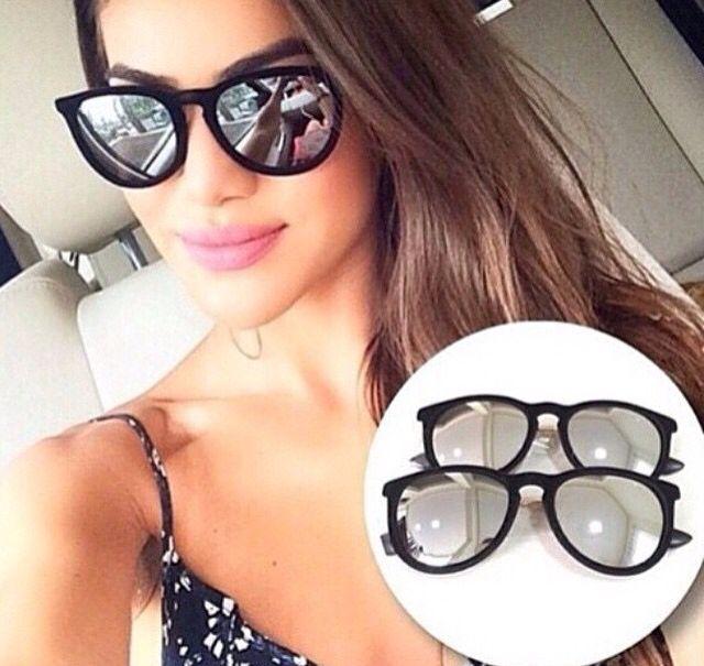Oculos  Ray Ban lente espelhada De R$ 130,00❌ Por R$99,99 Enviamos para todo Brasil ✈️ Garanta já o seu!  WhatsApp 11 975725547 . . #tendenciall#rayban#michaelkors#louisvuitton#illesteva#follow #followme #tagsforlikes #beautiful #girl #like4like #fashion #summer #instalike #likeforlike