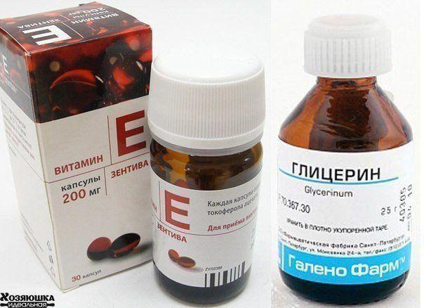 Глицерин и витамин Е для лица можно и даже нужно использовать ежедневно. Токоферол (витамин Е) является первым антиоксидантом среди витаминов, который дарит коже здоровье и предотвращает возрастные изменения. Это вещество действует следующим образом: оно замедляет окислительные процессы в клетках, улучшает питание, защищает от воздействия ультрафиолетовых лучей. Витамин Е используется в качестве основного компонента во многих косметических средствах. Он обладает следующими
