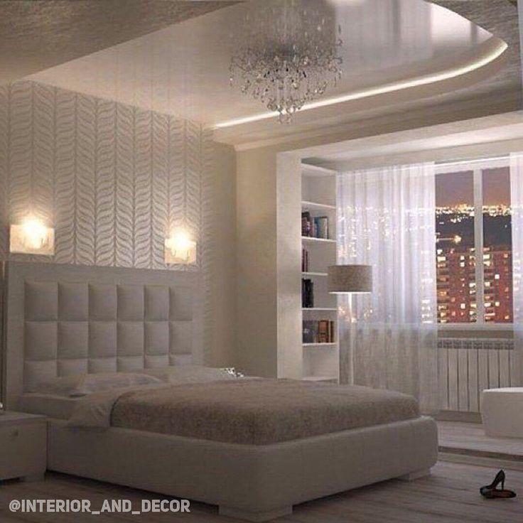 «Светлый интерьер спальни ☺️»