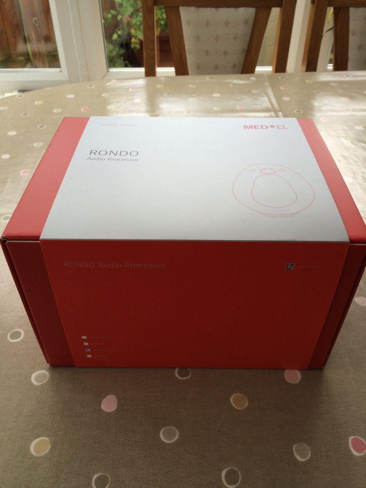 Med-el Rondo - BIG box!