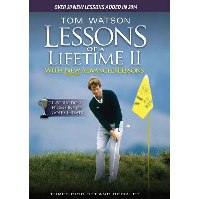 """Tom Watson: Lessons of a Lifetime II 3-Disk DVD Pack: """"Tom Watson: Lessons of… #GolfClubs #GolfDrivers #GolfIrons #GolfPutters #GolfHybrids"""