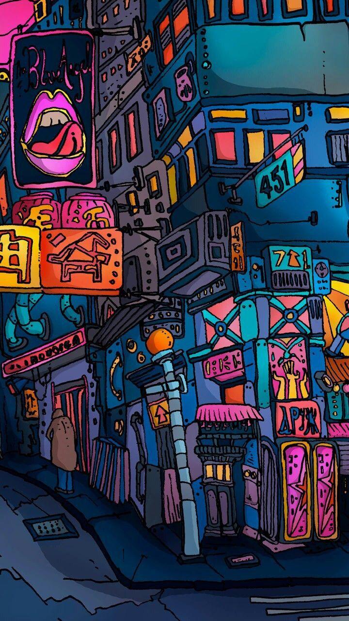 Pin By Ivan Dubovik On Illustration Cartoon Comic Pop Art Wallpaper Desktop Wallpaper Art Art Wallpaper Iphone