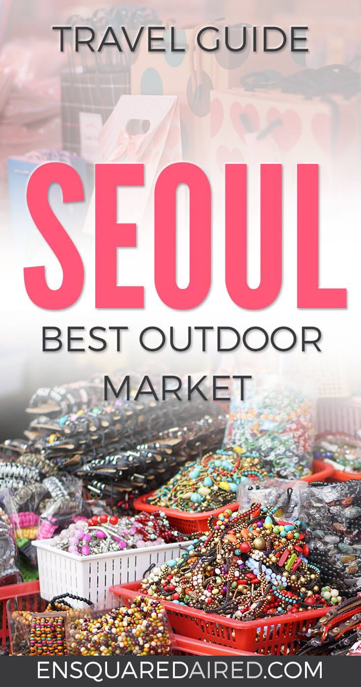 Why Namdaemun Market In Seoul Is Remarkable | Is Seoul on your bucket list for your next travel destination? Are you looking for a great place to shop Click this post to read about Namdaemun Market, one of South Korea's largest and oldest markets with over 10,000 stalls and eateries | Seoul Travel | Seoul Shopping | Seoul City | Seoul Things to do in | Seoul Food | Seoul trip | Seoul Travel Beautiful places | Seoul travel Tips | Seoul travel Korea | Seoul travel Guide | Seoul travel bucket…