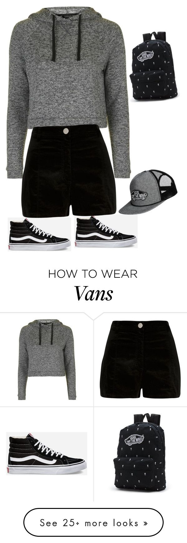 """tumblr grunge¿"" by sallygonxalez on Polyvore featuring Topshop, Vans and River Island"