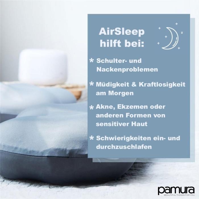 Airsleep Kissen Fur Mehr Energie Am Morgen Kissen Kopf Und