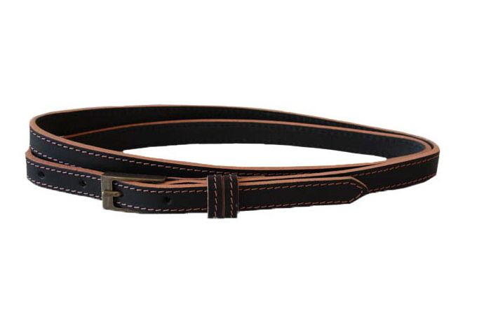 Coloured Skinny Belt by Jinger Jack