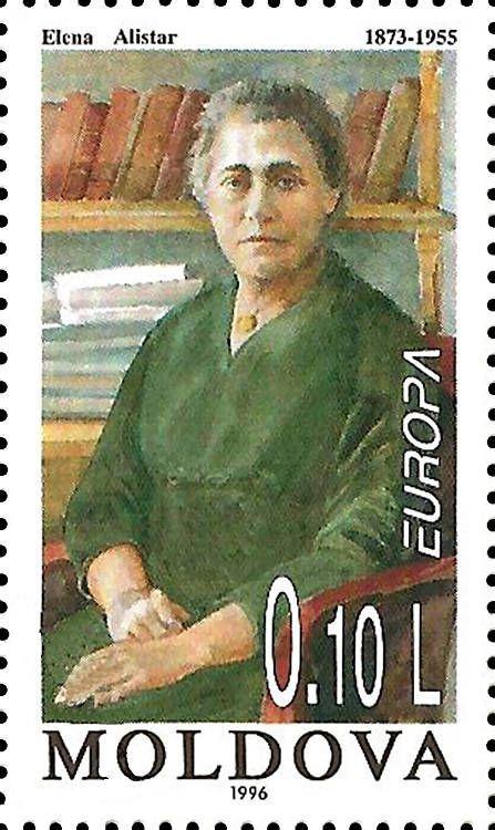 Elena Alistar, Educator and Politician (1873-1955)