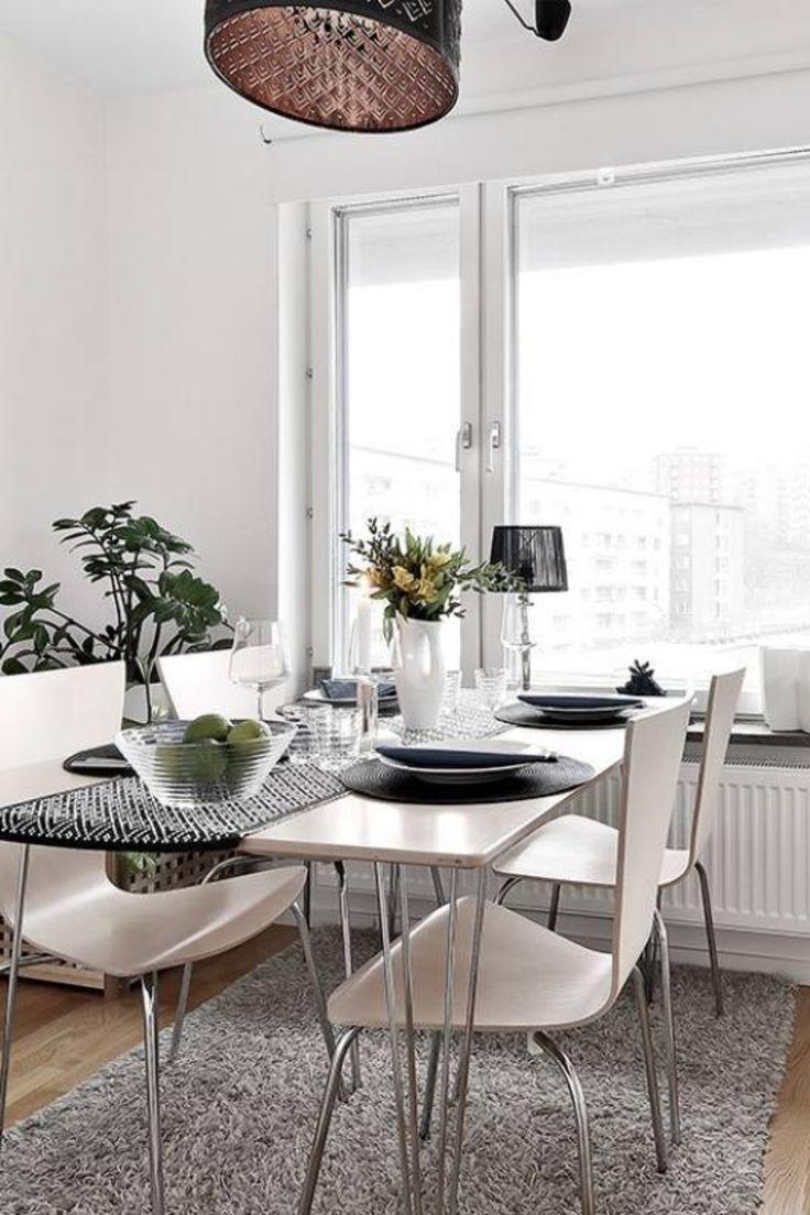 51 Scandinavian Stylish Dining Room Decor Ideas Minimalist