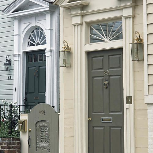 17 best images about front doors on pinterest arched windows exterior paint and southern living - How to paint exterior windows style ...