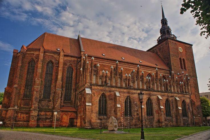 Słupsk – Kościół Mariacki z XIII w.