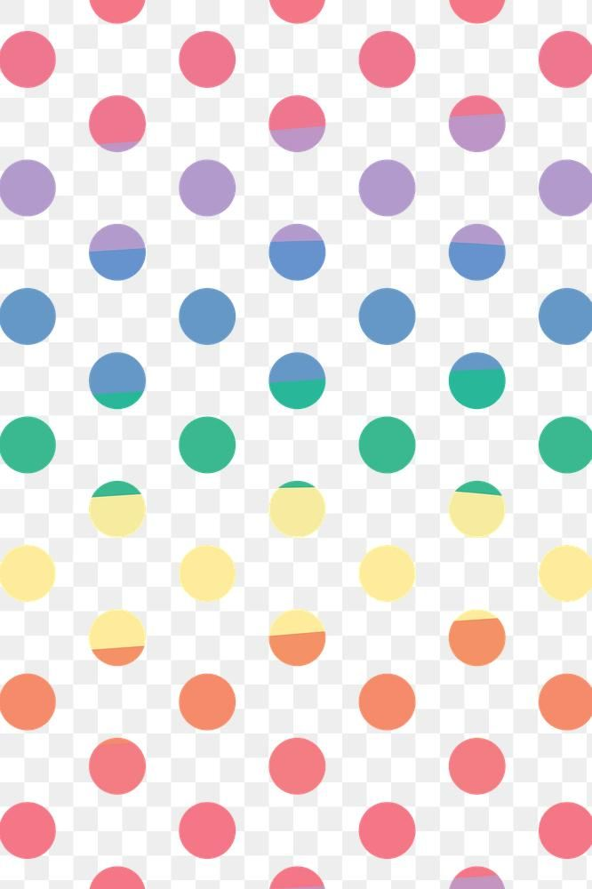 Download Premium Png Of Artsy Colorful Polka Dot Png Pattern Banner 2682618 Colorful Backgrounds Pattern Artsy