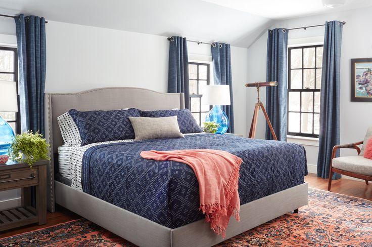 Stil Farmhouse cu accente albastre și verzi Jurnal de design interior