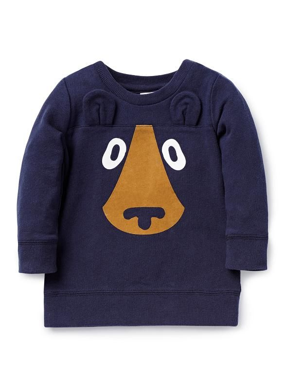 Baby Boys Tops & Tees | Bear Sweater | Seed Heritage