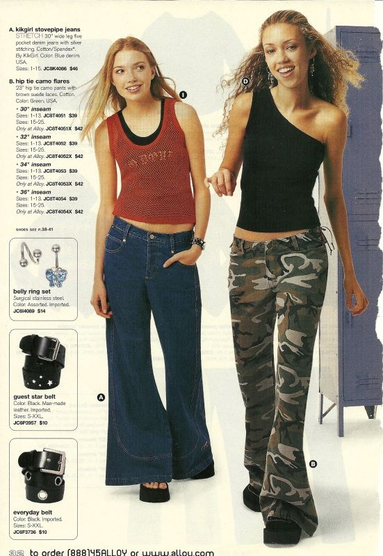 90's fashion Delia*s and Alloy were the shit. I only ever got ONE skirt from them and I wore the hell out of it.