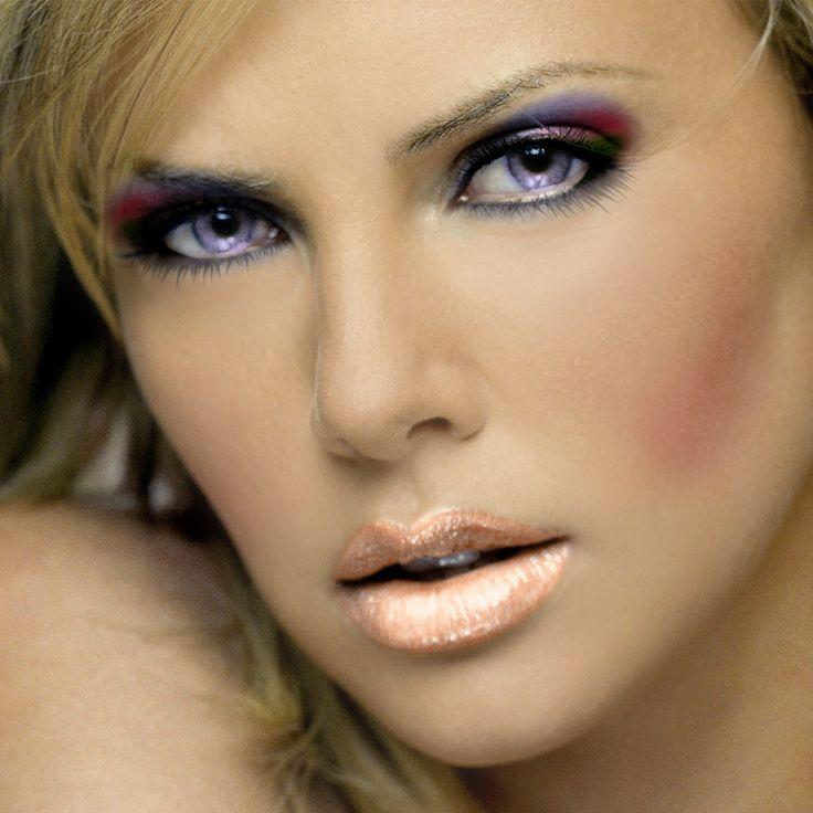 Natural Violet Eyes | VIOLET EYES | Attractive Women ...  Natural Violet ...