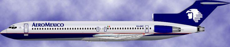 Aeromexico Boeing 727-200