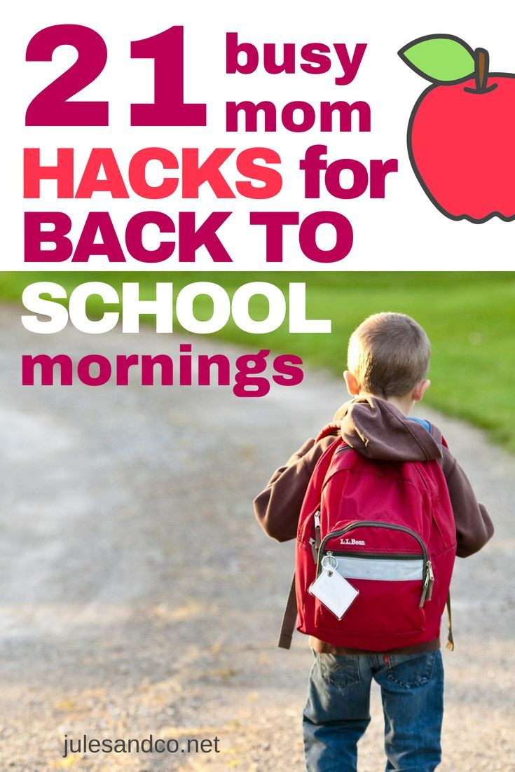 21 Busy Mom Hacks for Your Morning Routine for School