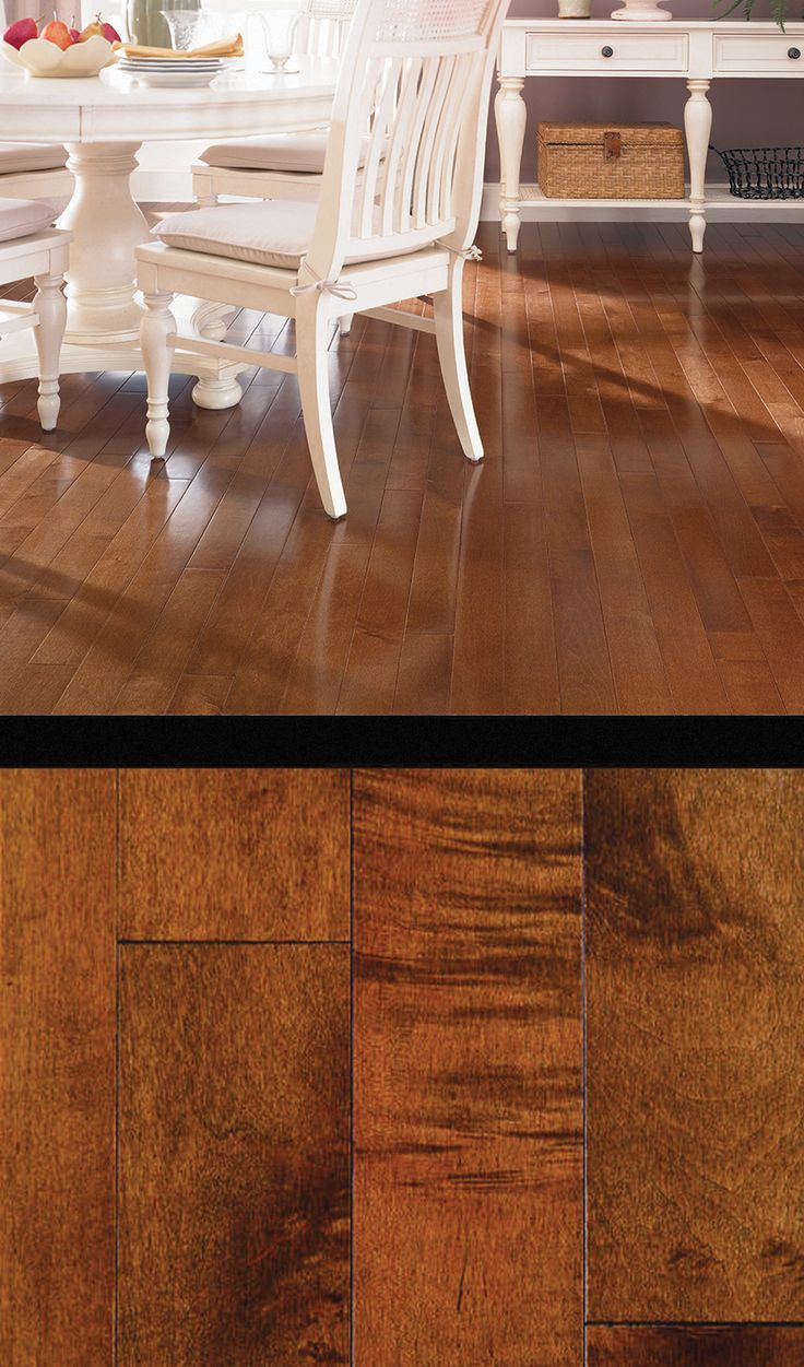 Transform your home with maple solid hardwood flooring for Light solid wood flooring