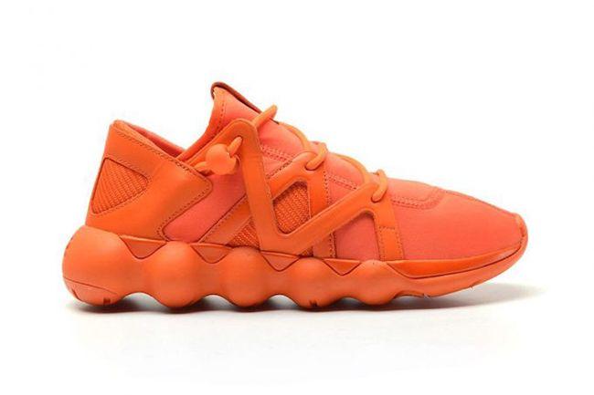 The adidas Y-3 Kyujo Low Gets Dressed in Orange on http://SneakersCartel.com   #sneakers #shoes #kicks #jordan #lebron #nba #nike #adidas #reebok #airjordan #sneakerhead #fashion #sneakerscartel