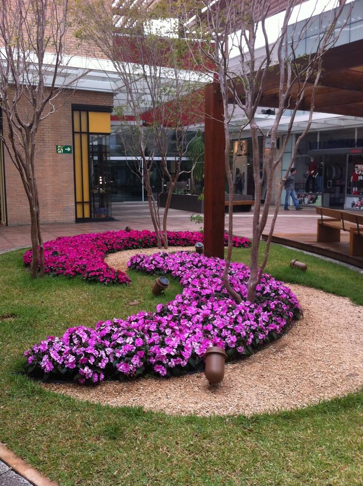 Landscape in open mall - parque d pedro shopping - campinas /SP- brazil