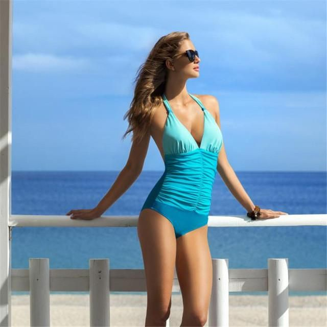 Brazilian Bandage One Piece Swimwear Women | Furrple