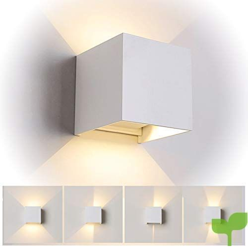 Netboat Lampara De Pared Interior 12w Moderna Apliques De Pared Blanco Calido Moda Agradable Luz De Ambie Lampara De Pared Apliques De Pared Paredes Iluminadas