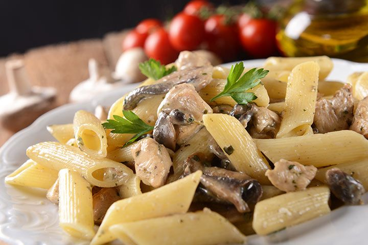 Chicken Recipes For Toddlers Chicken And Mushroom Pasta
