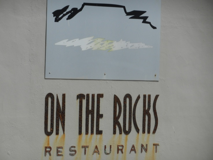 On the Rocks Restaurant. Blouberg, Cape Town, South Africa.
