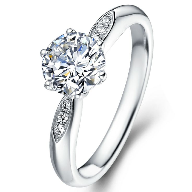 """One of the simplest and perfect ways to say """"I love you!"""" Find your way at www.LaVivion.com #engagement #LaVivion #diamond #ring"""