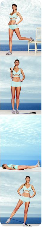 Get a supermodel body: Marisa Miller's step-by-step #fitness plan #workout