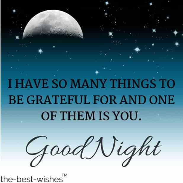 Good Night Quote For Her