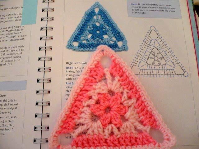triángulo: Triángulos Crochet, Tissue, Crochet Patterns, Triángulo Crochet