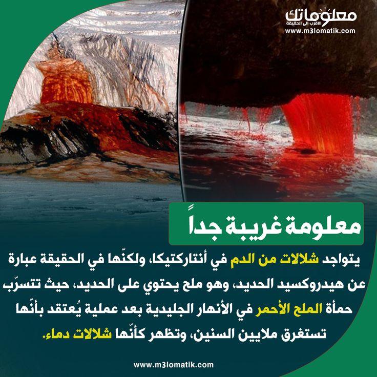 معلومة غريبة نهر الدماء