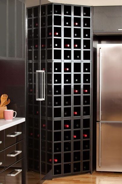 Kaboodle Kitchen - The Wine lover, Available at Bunnings #attachable #stackabletower #winerack