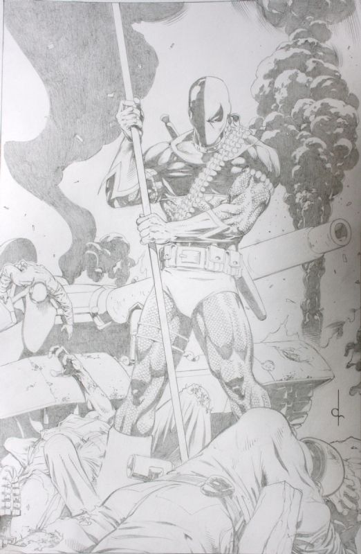 Deathstroke by Dave Ross