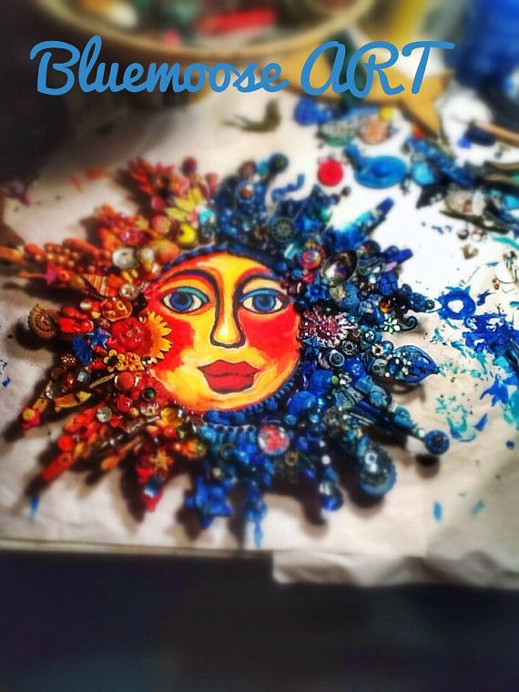 The Fantastic Bead Mosaics© SUN Series NEW Day by bluemoose
