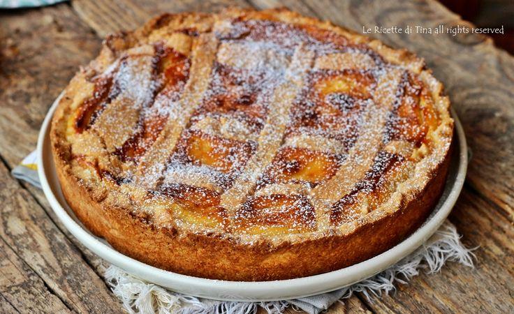 Crostata crema pasticcera e ricotta ricetta imperdibile,crostata cremosa e golosissima!La ricotta rende questo dolce unico!