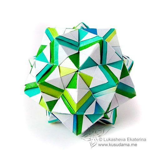 Modular Origami 45-Sonobe unit