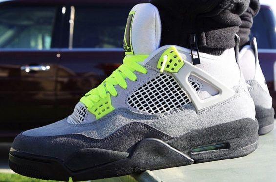 Air Jordan 4 Neon (Air Max 95 Neon