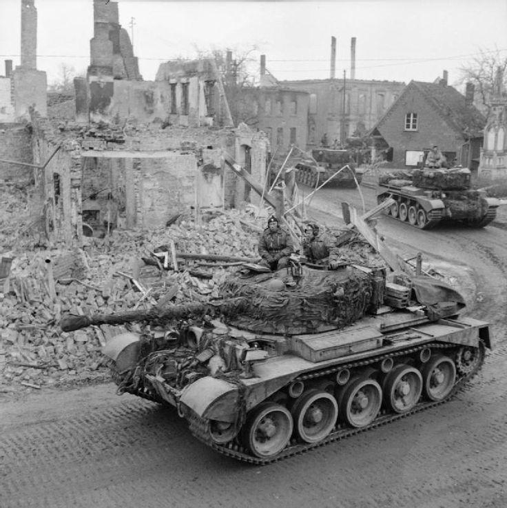 Comet tanks