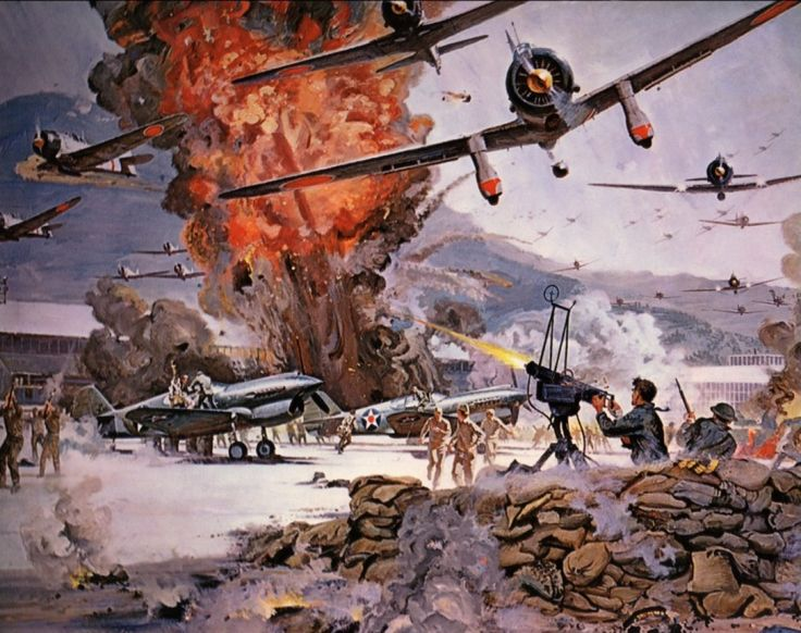 "Japanese WWII:  ""Attack on Pearl Harbor"" December 7, 1941."