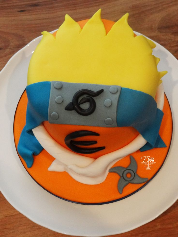Naruto Birthday Cake