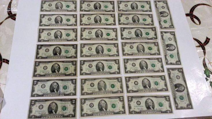 24 $2 Real Dollar bills Average Circulated FEDERAL…