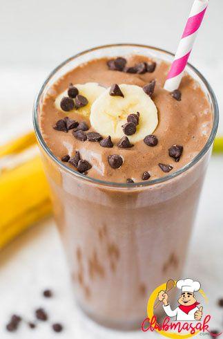 Resep Smoothie Pisang Kacang Cokelat Cip, Resep Minuman Untuk Berbuka Puasa, Club Masak