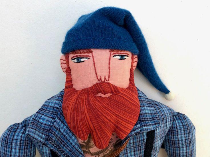 Red Haired Lumberjack Doll In 2020 Lumberjack Red Hair Dolls