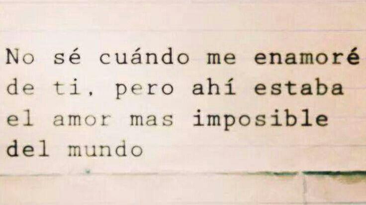El amor más imposible