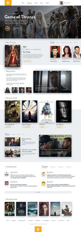 Film database – SiteUp