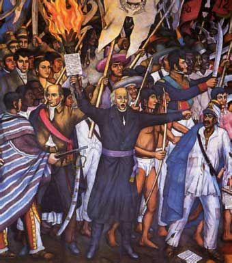 Considered the Father of Mexico.  En 1808, la invasión a España por las tropas napoleónicas y la consiguiente deposición de su monarca Carlos IV, y de su hijo Fernando VII, generaron gran oposición tanto en España como en América. Surgieron entonces numerosos grupos de intelectuales que discutían en torno a los problemas de la soberanía y la forma de gobernarse. En 1809 Hidalgo se unió a una de esas sociedades secretas, formada en Valladolid, cuyo fin era reunir un congreso para gobernar el…