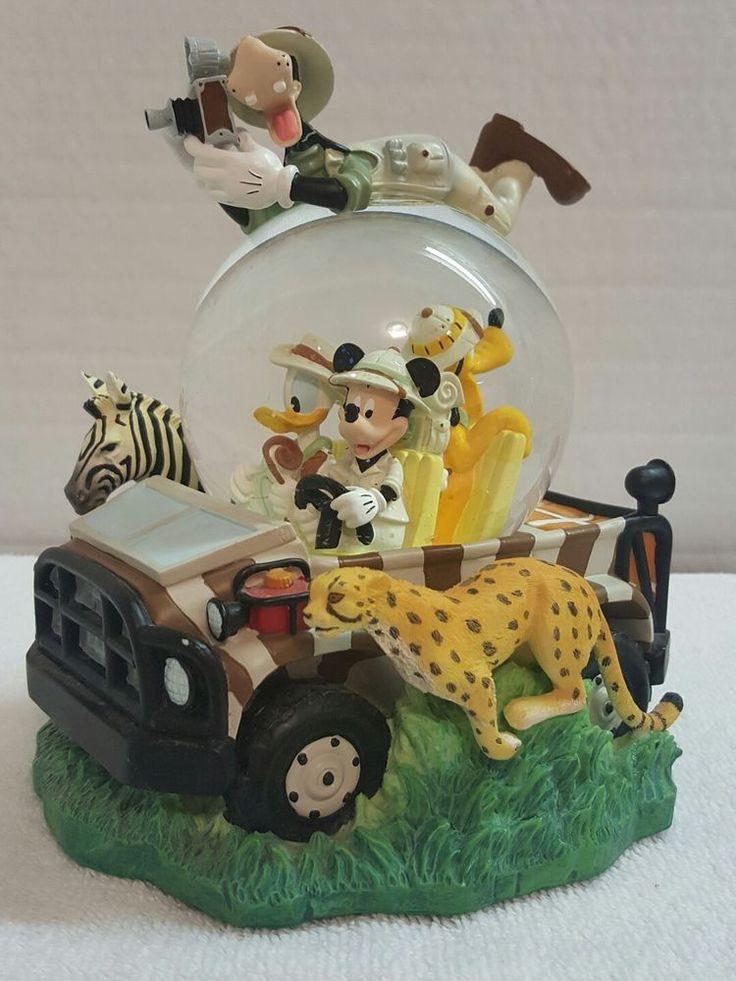 Disney Animal Kingdom Safari Musical Snow Globe