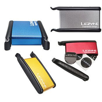 Wiggle | Lezyne Lever Patch Kit | Puncture Kits & Levers